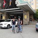 bikes at Whistler