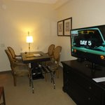 Suite dining and TV