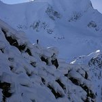 Scoping out some pillow lines - Mattias Fredriksson photo