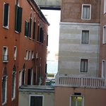 View from room down to Grand Canal