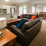 Spacious living and dining rooms for comfort and entertaining