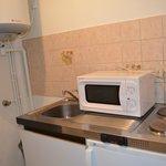 Hotel Porte de France, kitchen