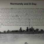 USS Laffey Normandy and D-Day