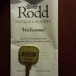 The only hotel ive been to that has a key for the room