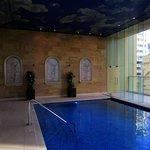 Pool area. 5th level