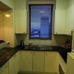 Room 2207 kitchen