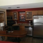 Kitchen in a King Studio room