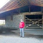 The big round barn