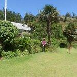 Garden at Pompallier Mission