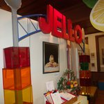 Jello sign from Winter Olympics in Salt lake