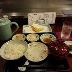 My tempura meal setup!