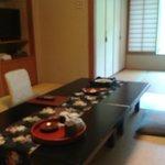dining setup