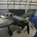 Stuka, next to the only BF-110 on display in the world