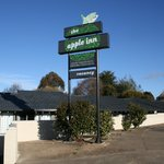 The Apple Inn! You won't miss the sign!