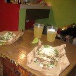 tacos and piña