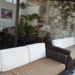 Balcony sofas