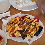 multi colored nachos,..:(