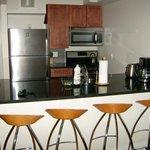 Wohn/Schlafzimmer Küche mit Komplettausstattung