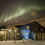 Trapper's Hotel and Northern Lights