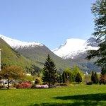 """Garden and mountain """"Skåla"""""""