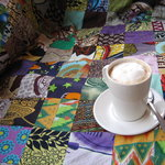 The perfect Cuppa on our famous African-homely lounge