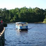 The water taxi to Riverside and Downtown Disney