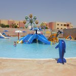 Один из нескольких детских бассейнов