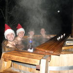 outdoor - hot tub - jacuzzy - 35 - 40C