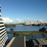 the view from Crown Perth.