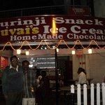 Me with Swaminathan - Kurinji Snack Bar