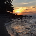 Sunset at Tuko beach