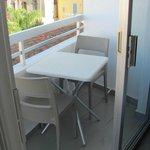 Very small balcony