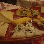 La splendida selezione di formaggi