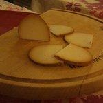 Ricotta affumicata su legno di Faggio