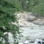 river beas in front of hotel