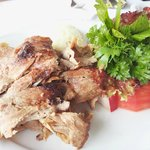 Delicious grilled meat