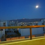Balcony view overlooking Athena
