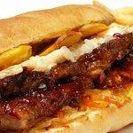 Sandwich de Costilla BBQ