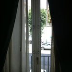 finestra su via Foria