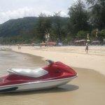 patong beach,3 min entfernt
