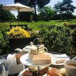 Zest Afternoon Tea on the terrace