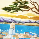Encinitas trees at St Tropez