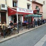 Restaurant seen from Street