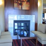 Fireplace- Lobby
