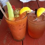 Lobster Lemondade and Bloody Mary