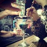 Жесткий коктейль горящий ламборджини