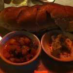 bread with salsa