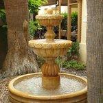 Gurgling fountain,