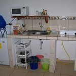 Kitchenette (each room has propane stove and microwave and clean water)
