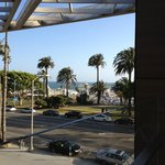 View from our room balcony
